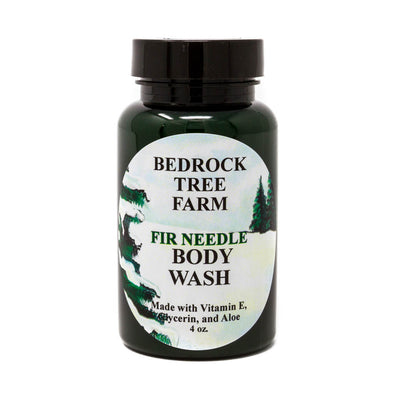 Fir Needle Body Wash - Bedrock Tree Farm Fir Needle Products