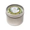 Metal Tin Soy Candle Fir Needle Natural 4oz - Bedrock Tree Farm Fir Needle Products