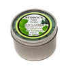 Metal Tin Soy Candle Shiso 8oz - Bedrock Tree Farm Fir Needle Products