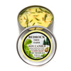 Metal Tin Soy Candle Lemongrass 8oz-Bedrock Tree Farm Fir Needle Products