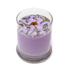 Glass Pillar Jar Soy Candle Lavender 12oz - Bedrock Tree Farm Fir Needle Products