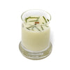 Glass Pillar Jar Soy Candle Fir Needle Natural 2.75oz-Bedrock Tree Farm Fir Needle Products