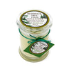 Glass Pillar Jar Soy Candle Fir Needle Natural 8oz - Bedrock Tree Farm Fir Needle Products