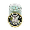 Glass Mason Jar Soy Candle Juniper 1.25oz-Bedrock Tree Farm Fir Needle Products