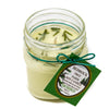 Glass Mason Jar Soy Candle Fir Needle Natural 8oz - Bedrock Tree Farm Fir Needle Products
