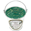 Galvanized Metal Pail Soy Candle Fir Needle Green 12oz - Bedrock Tree Farm Fir Needle Products