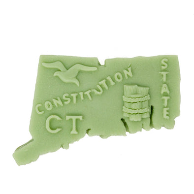 New England State Soap Shapes - Bedrock Tree Farm Fir Needle Products