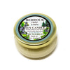 Glass Tureen Jar Soy Candle Bayberry 3.5oz - Bedrock Tree Farm Fir Needle Products