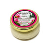 Glass Tureen Jar Soy Candle Beach Rose Fir 3.5oz-Bedrock Tree Farm Fir Needle Products