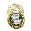 Glass Tureen Jar Soy Candle Fir Needle Natural 6oz - Bedrock Tree Farm Fir Needle Products