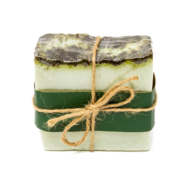 Wrapped Soap-Bedrock Tree Farm Fir Needle Products