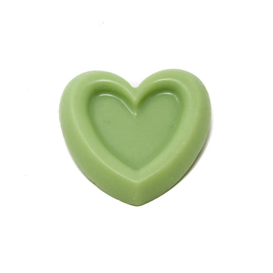 Valentine's Day Heart Soap-Bedrock Tree Farm Fir Needle Products