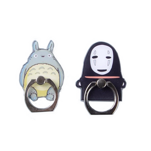 Totoro & No Face Smart Phone Ring