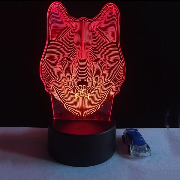 Beowulf 3D Lamp
