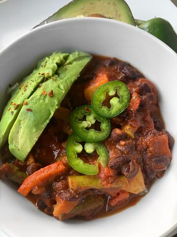 RECIPE: Black Bean Chili