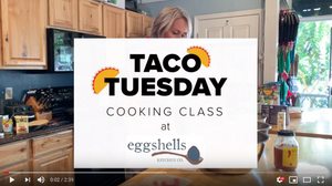 Eggshells Cooking Class Recap + Video!