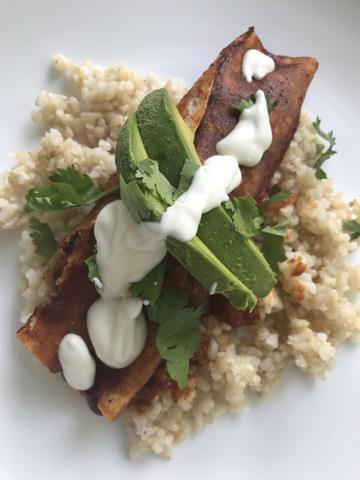 RECIPE: Vegan Enchiladas