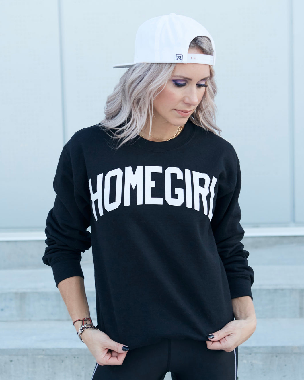 HOMEGIRL Black Sweatshirt