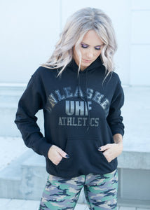 Black Unleashed Athletics Hoodie