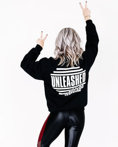 Unleashed Athlete Sweatshirt - Black