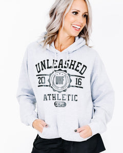 Unleashed University Hoodie - Grey
