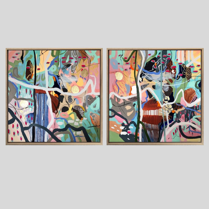 ' Age of Reason 4 & 5 ' Original Artworks (Diptych)