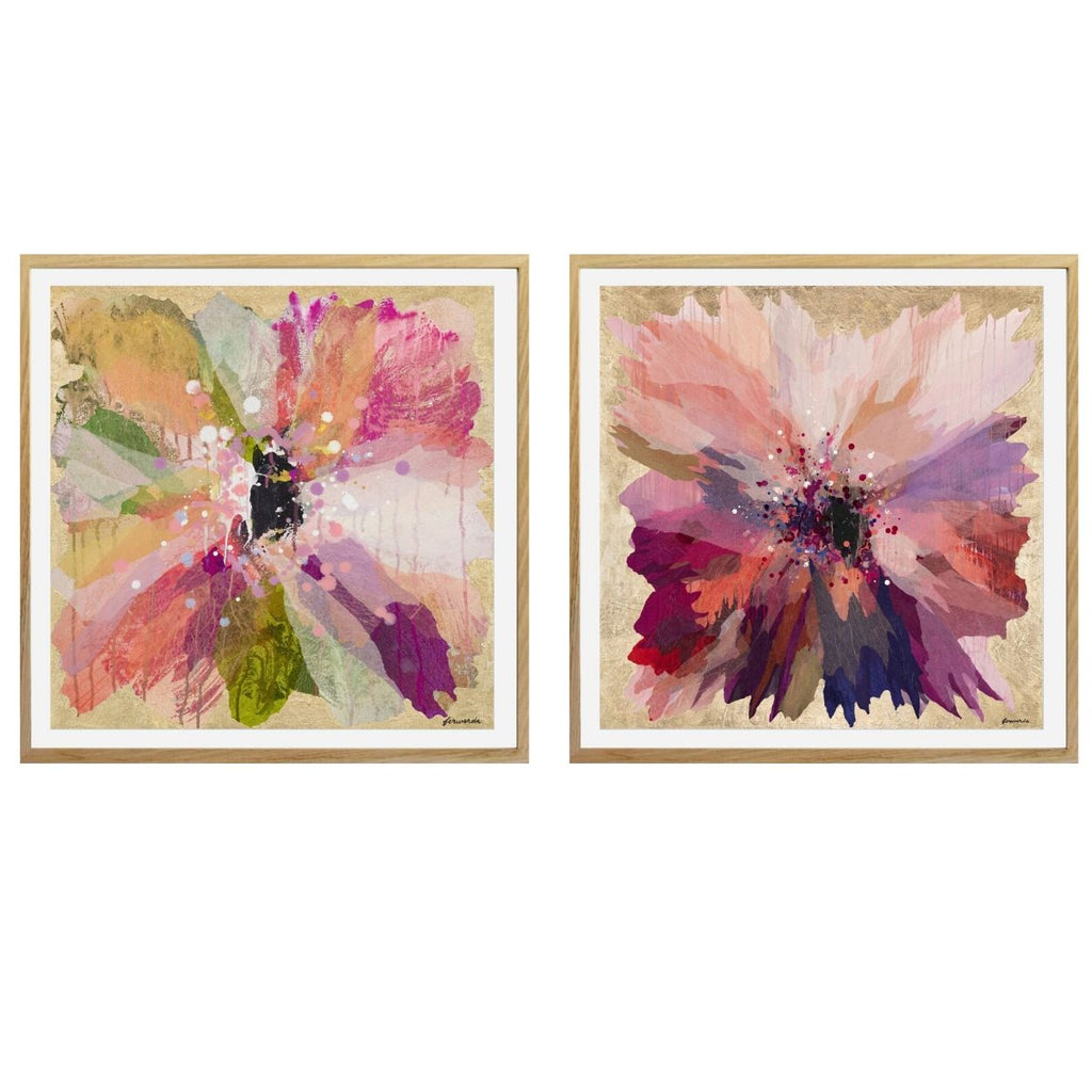 Buy ' PETUNIA ' - LIMITED EDITION ART PRINT ( UNFRAMED ) - The Interiors Assembly