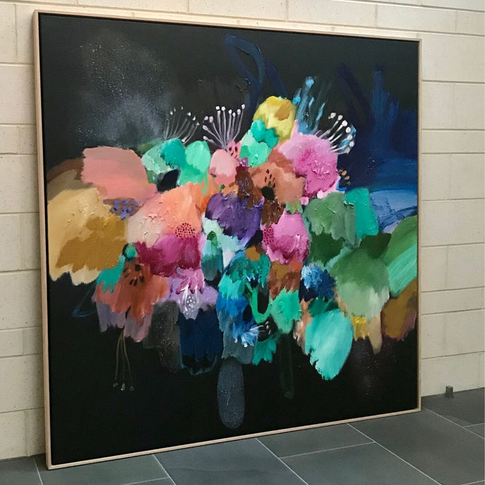 Buy ' A Floral Touch ' Original Artwork - The Interiors Assembly