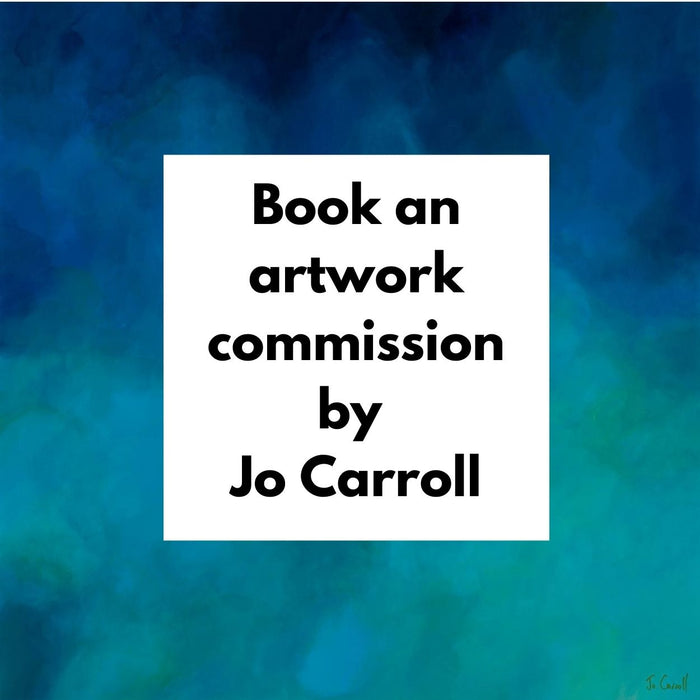 BOOK AN ORIGINAL ARTWORK COMMISSION BY JO CARROLL.