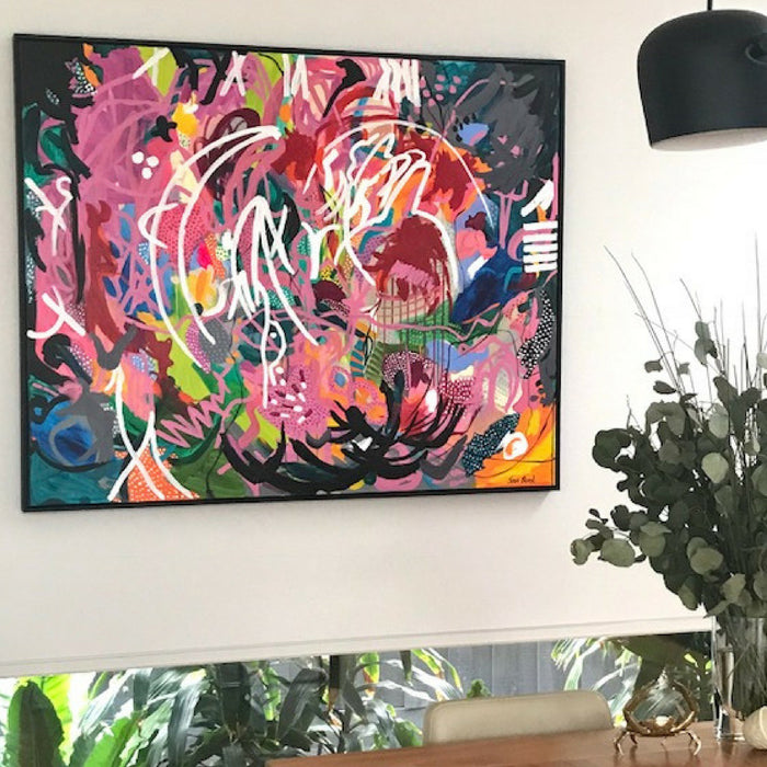 Buy ' Summer Heat ' Original Artwork - The Interiors Assembly