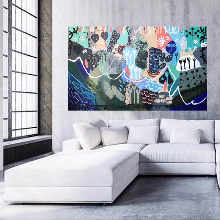 Buy 'FOREST SURROUNDS II ' Original Artwork - The Interiors Assembly