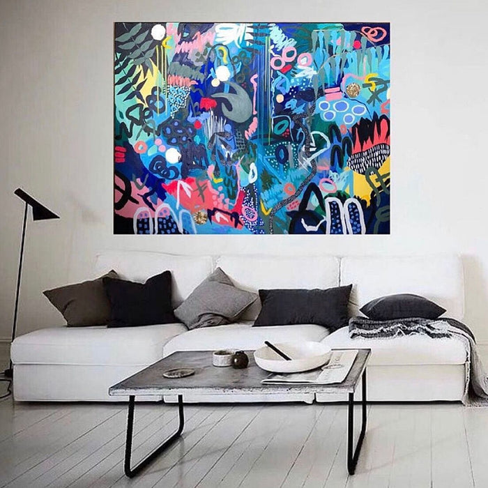 Buy ' RAINDANCE ' Original Artwork - The Interiors Assembly