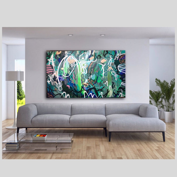 Buy ' FOREST REFLECTION ' Original Artwork - The Interiors Assembly