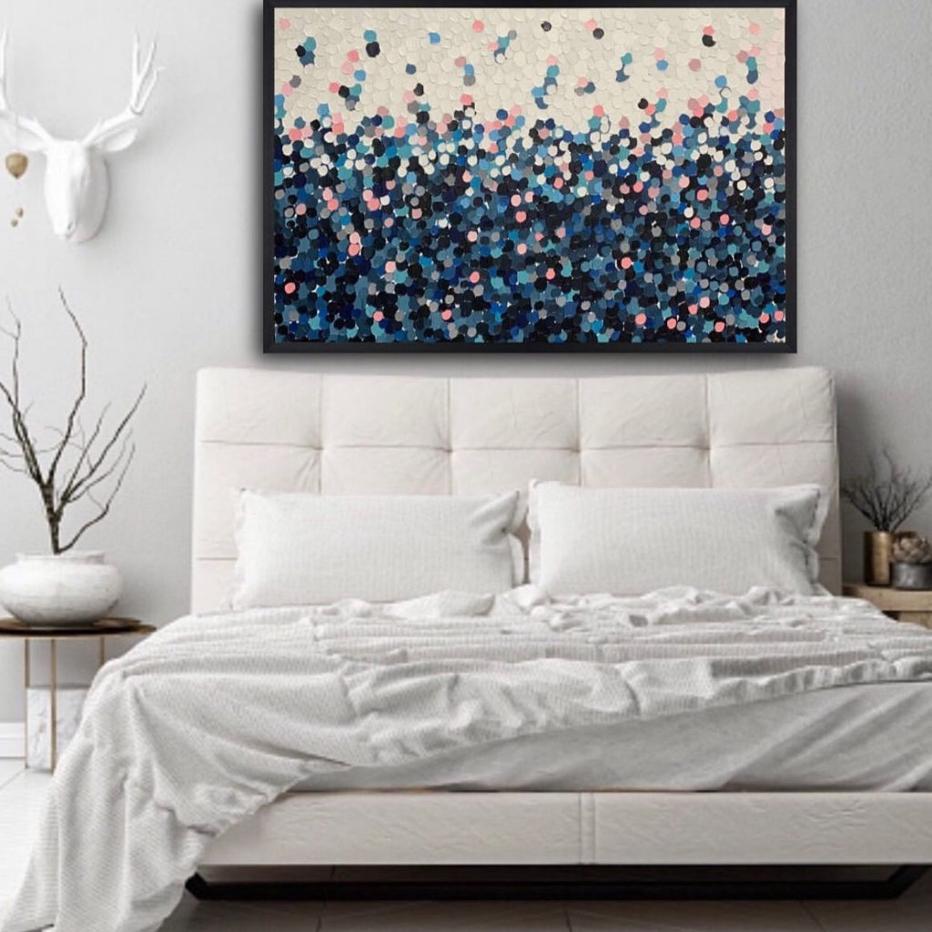 Buy ' BLUE WITH YOU 2 ' Original Art - The Interiors Assembly