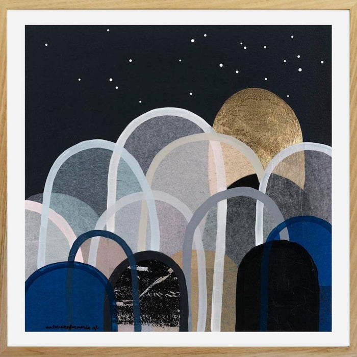 Buy 'NIGHTSTAR HILLS'- LIMITED EDITION PRINT (UNFRAMED) - The Interiors Assembly