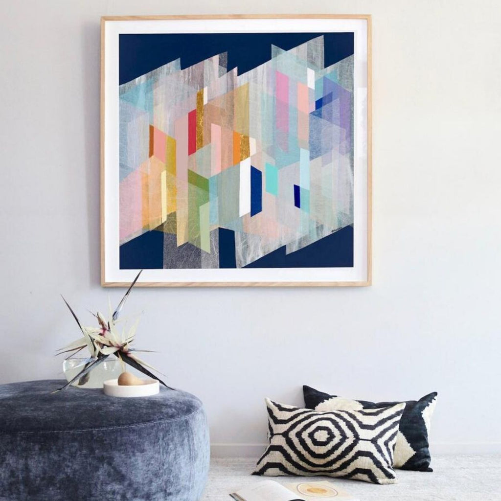 Buy ' ULTRAVIOLET ' - LIMITED EDITION ART PRINT ( UNFRAMED ) - The Interiors Assembly