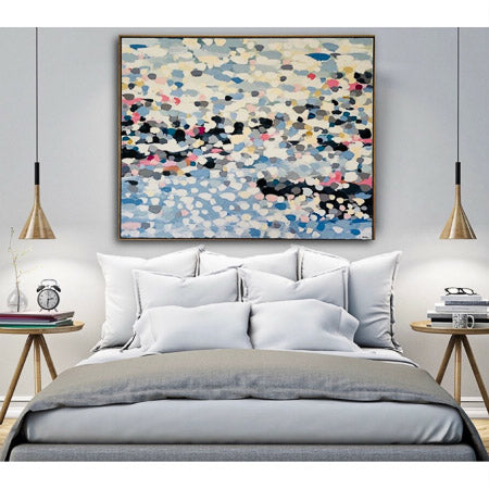 Buy 'Pebbles by the Sea' Original Art - The Interiors Assembly