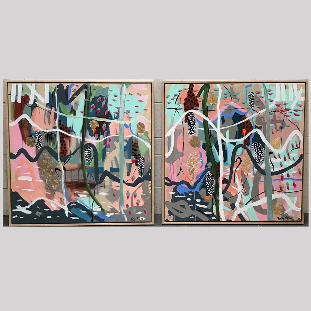Buy ' Age of Reason 2 & 3 ' Original Artworks (Diptych) - The Interiors Assembly