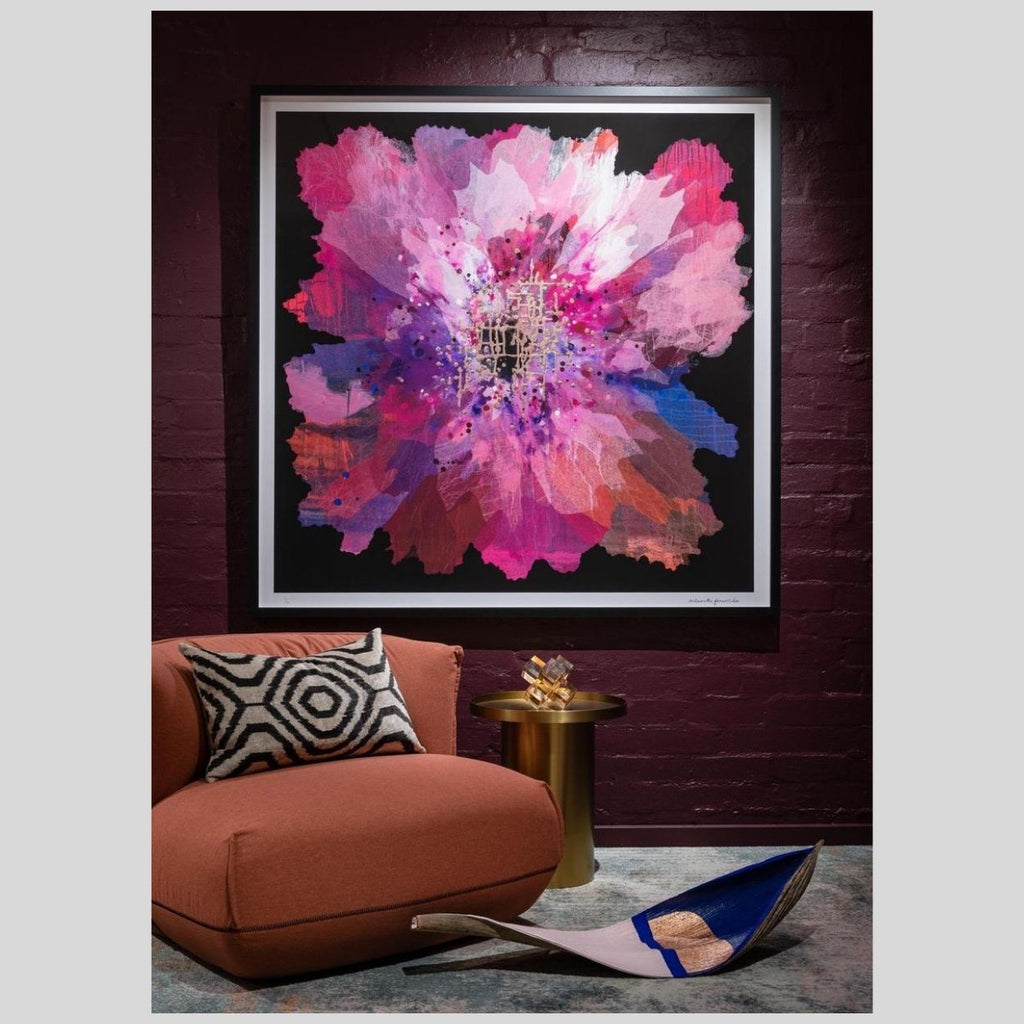 ' RUBY ORCHID ' - LIMITED EDITION ART PRINT ( UNFRAMED )