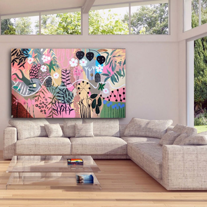 Buy ' Scents of Spring ' Original Artwork - The Interiors Assembly