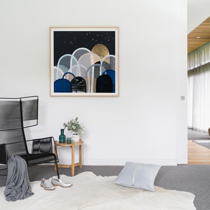Buy Nightstar Hills - Limited Edition Art Print - The Interiors Assembly