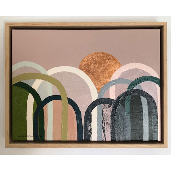 Buy Blush and Olive Hills Original Artwork - The Interiors Assembly