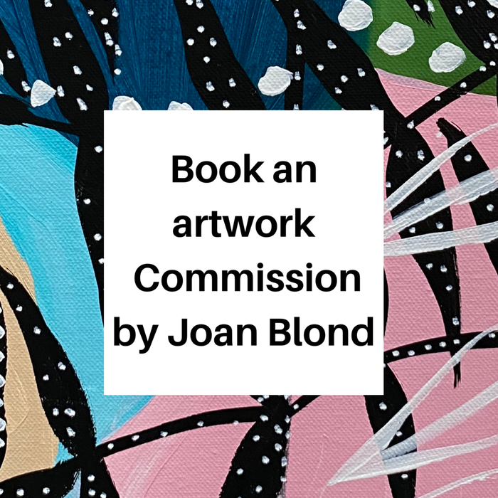 BOOK AN ORIGINAL ARTWORK COMMISSION BY JOAN BLOND.