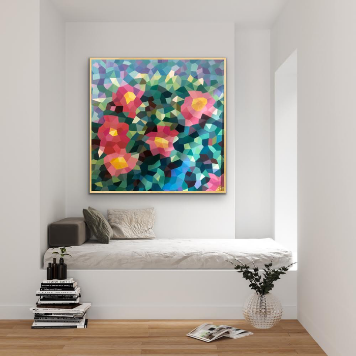 ' Camellias ' Original Artwork