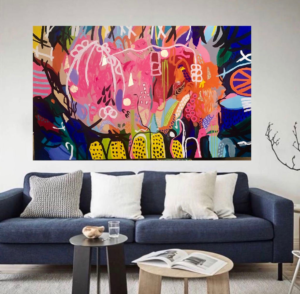 Buy ' Pinot Grigio in Summer '  Original Artwork - The Interiors Assembly