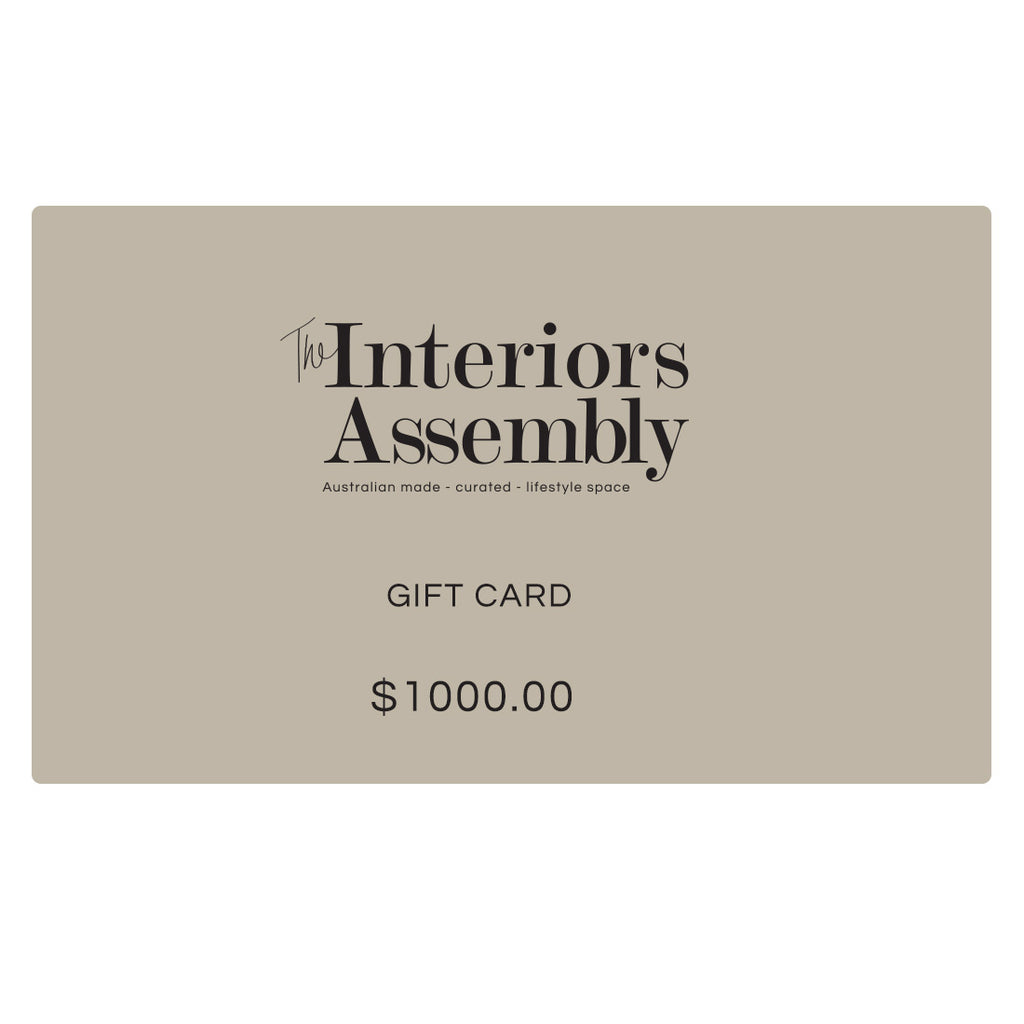 Buy Gift Card - The Interiors Assembly