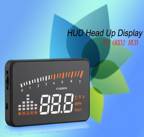 Automobile Accessories - Heads Up Windshield Speed Display