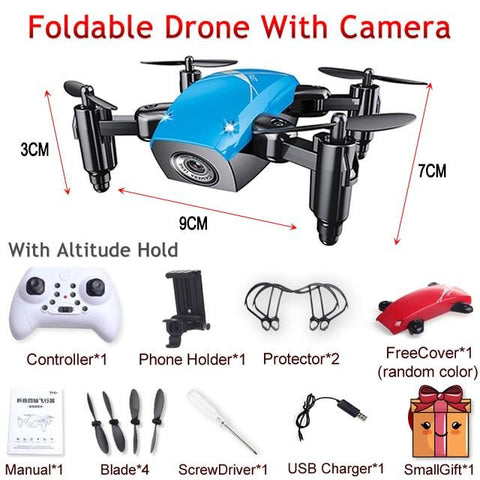 Product Title A-Z - Foldable RC Mini Drone