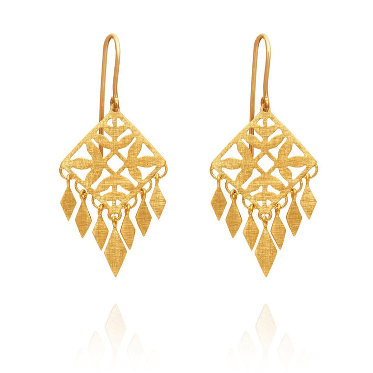 Temple of the Sun Roma Earrings