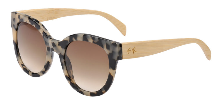 Sticks & Sparrow- Coast Ivory Tort Sunglasses